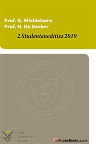 Voordeelpakket VUB studentenedities 2019