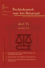 Rechtskroniek voor het Notaires 35