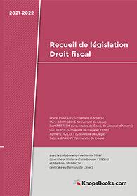202107_kp_recueil de législation droit fiscal_I_softcover.indd